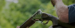clay shooting banner