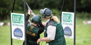Clay Shooting Festival, BASC Coaching Lines