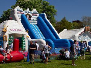 bouncy castle blurb